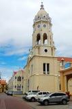 Viejo do casco de Panama City fotos de stock royalty free