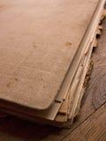 Viejo documento Fotos de archivo libres de regalías