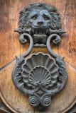 Viejo doorknocker Foto de archivo libre de regalías
