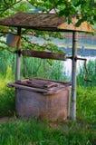 Viejo drenaje-bien Foto de archivo libre de regalías