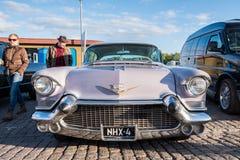 Viejo Eldorado de Cadillac del coche de Helsinki, Finlandia Fotografía de archivo