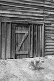Viejo escenario de película del oeste salvaje de la ciudad en Arizona Imagen de archivo libre de regalías