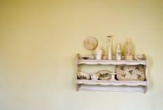 Viejo, estante de la vendimia Foto de archivo libre de regalías