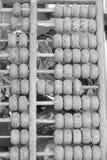 Viejo estilo antiguo del vintage del ábaco Imágenes de archivo libres de regalías