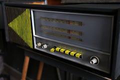 Viejo estilo retro de radio fotografía de archivo