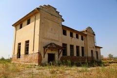 Viejo exterior abandonado del molino Imagen de archivo