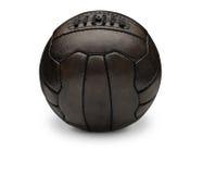 Viejo fútbol del vintage Fotos de archivo libres de regalías