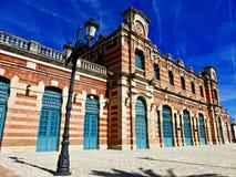 Viejo ferrocarril en Linares Foto de archivo