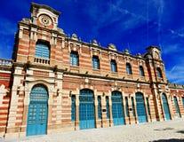 Viejo ferrocarril en Linares Fotos de archivo