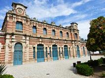 Viejo ferrocarril en Linares Imagenes de archivo