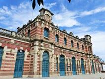 Viejo ferrocarril en Linares Imagen de archivo