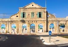 Viejo ferrocarril turco en Jerusalén. Imagenes de archivo