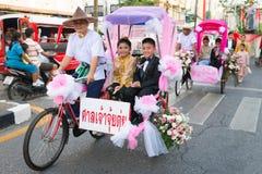 Viejo festival de la ciudad de Phuket Imagenes de archivo