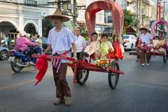 Viejo festival de la ciudad de Phuket Fotografía de archivo