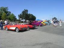 Viejo festival del coche imagen de archivo