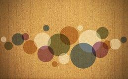 Viejo fondo abstracto de los colores Foto de archivo libre de regalías