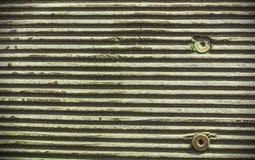 Viejo fondo arbolado surcado Fotografía de archivo libre de regalías