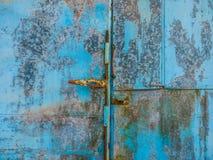 Viejo fondo azul Imágenes de archivo libres de regalías