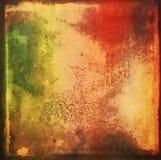 Viejo fondo colorido de la acuarela Fotos de archivo