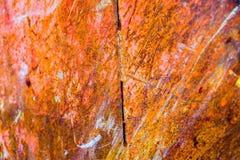 Viejo fondo corroído de la pared del metal Superficie de metal agrietada escamosa oxidada Resuma la textura superficial del metal foto de archivo libre de regalías