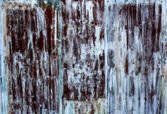Viejo fondo de la cerca del cinc Fotografía de archivo libre de regalías