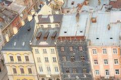 Viejo fondo de la ciudad Imagen de archivo libre de regalías