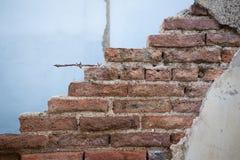 Viejo fondo de la pared de ladrillos del grunge Foto de archivo