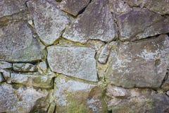 Viejo fondo de la pared de piedra Fotografía de archivo libre de regalías