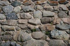 Viejo fondo de la pared de piedras Foto de archivo libre de regalías