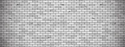 Viejo fondo de la pared de ladrillo con la ilustración en colores grises textura de la pared de ladrillo del vector stock de ilustración