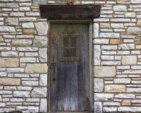 Viejo fondo de la puerta Fotografía de archivo libre de regalías