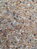 Viejo fondo de la textura de la pared de piedra de la roca Fotos de archivo