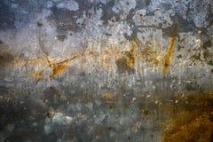 Viejo fondo de la textura del moho del hierro del metal Foto de archivo libre de regalías