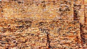 Viejo fondo de la textura de la pared de ladrillo fotografía de archivo libre de regalías