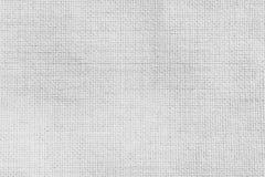Viejo fondo de la textura Superficie de la tela de materia textil blanca imagen de archivo libre de regalías