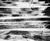 Viejo fondo de las escaleras Imagen de archivo