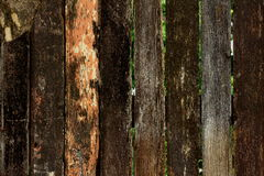 Viejo fondo de madera fotografía de archivo