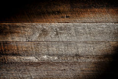 Viejo fondo de madera apenado de Grunge del tablón de la tarjeta Foto de archivo