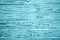 Viejo fondo de madera azul claro fotos de archivo libres de regalías