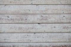 Viejo fondo de madera blanco Fotografía de archivo