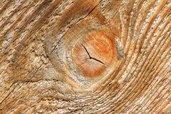Viejo fondo de madera con el nudo fotografía de archivo