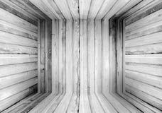 Viejo fondo de madera de la caja Fotos de archivo