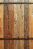 Viejo fondo de madera de la pared Imágenes de archivo libres de regalías