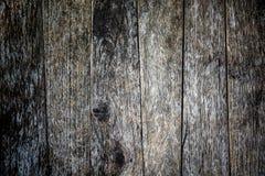 Viejo fondo de madera de la pared Foto de archivo libre de regalías