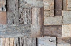 Viejo fondo de madera de la pared Fotografía de archivo libre de regalías