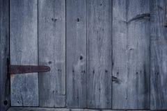 Viejo fondo de madera de la puerta Fotografía de archivo libre de regalías