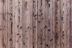 Viejo fondo de madera de la superficie de la pared y texturizado Fotografía de archivo