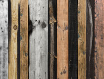 Viejo fondo de madera de la textura Foto de archivo