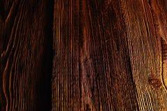 Viejo fondo de madera de la textura del modelo de Brown Imagenes de archivo