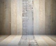 Viejo fondo de madera de la textura del sitio Imagen de archivo